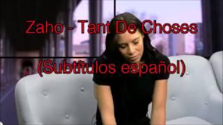 Zaho - Tant de choses LIVE Subtítulos español