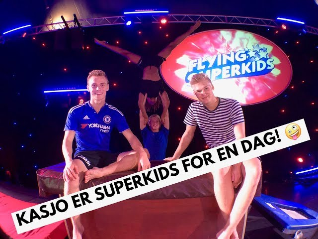 KasJo er Superkids For En DAG!