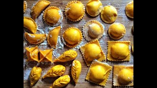 Ravioli fatti in casa, come prepararli facilmente - How to do easily homemade ravioli