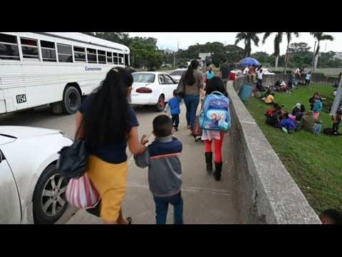 قافلة مهاجرين جديدة تنطلق من هندوراس سعياً وراء الحلم الأمريكي