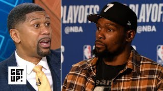 Gambar cover Kevin Durant's tweets show he's uncomfortable in his own skin - Jalen Rose | Get Up!