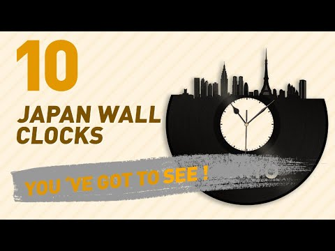 Japan Wall Clocks // New & Popular 2017