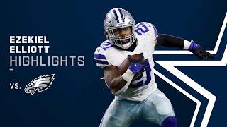 Ezekiel Elliott FEED ME! Top Plays vs. Philadelphia Eagles | 2021 Week 3 NFL Game Highlights