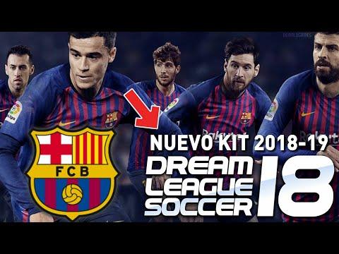 Divisa Barcellona 2018 Dream League Soccer : Trucos para