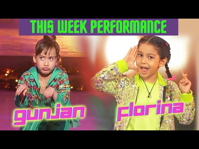 Gunjan Vs Florina THIS Week Performance | BEST Kaun? | Dance Deewane 3 Vs Super Dancer 4
