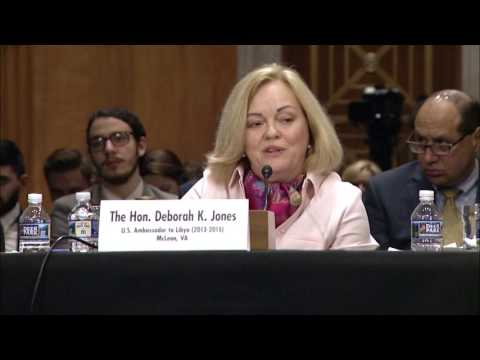 Senator Markey Discusses Libya at Senate Foreign Relations Hearing - April 25, 2017