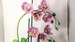 Орхидея фаленопсис из бисера Анонс к МК Бисероплетение Цветы из бисера