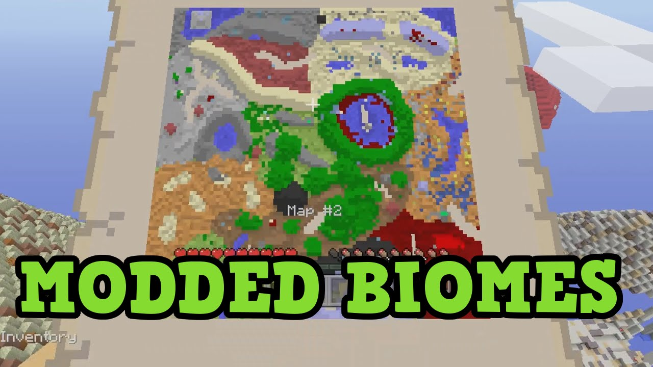 Minecraft Xbox MODDED BIOMES MAP YouTube - Biome map of us