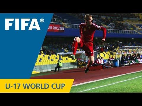 U-17 World Cup TOP GOALS: Dante RIGO (Belgium)
