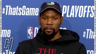 Kevin Durant Postgame Interview - Game 5 - Bucks vs Nets | 2021 NBA Playoffs