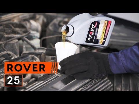 Jak Wymienić Olej Silnikowy I Filtr Oleju W ROVER 25 TUTORIAL   AUTODOC