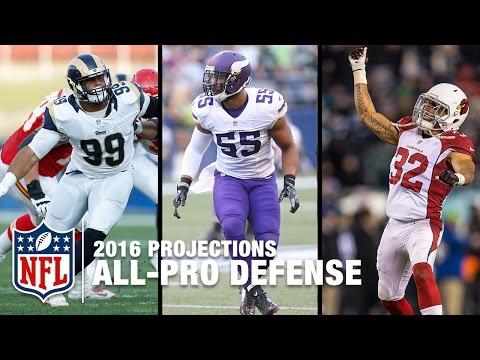 2016 NFL All-Pro Defense: No J.J. Watt? | NFL Now 2016 Season Predictions