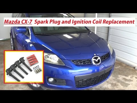 hqdefault mazda cx 7 spark plugs and ignition coil replacement mazda cx7  at reclaimingppi.co