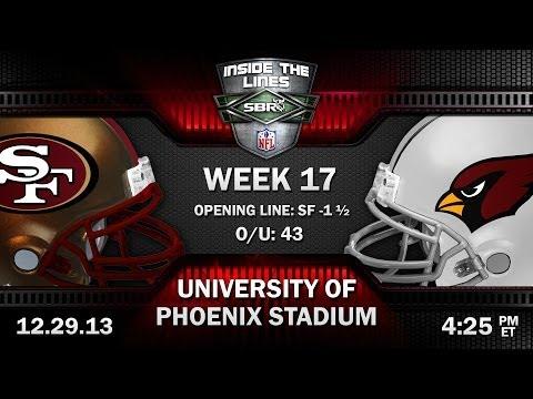 San Francisco 49ers Vs Arizona Cardinals NFL Week 17 Preview | NFL Picks W Al McMordie, Peter Loshak