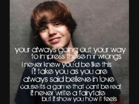 Favorite Girl - Justin Bieber  LYRICS (acoustic)