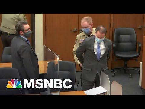Derek Chauvin's Sentencing Date Set For June 16 | Katy Tur | MSNBC