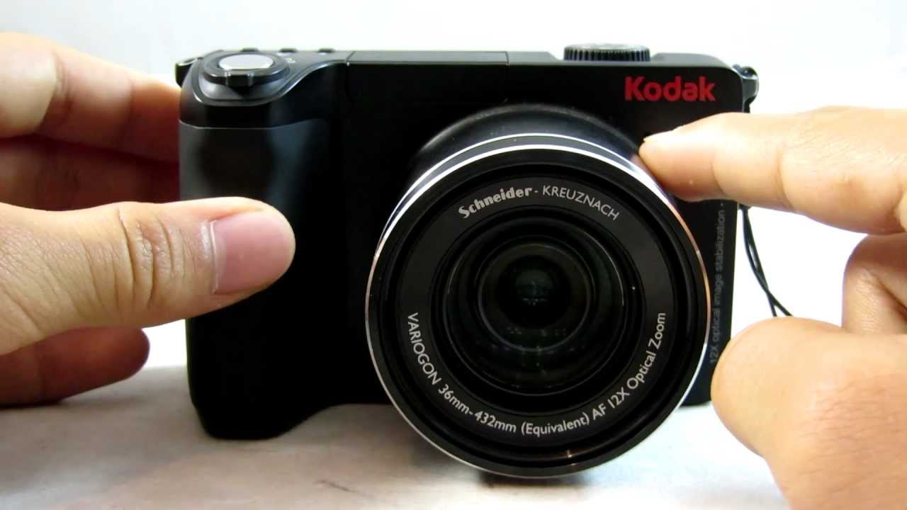 Kodak Easyshare Zd 1mp 12x Optical Zoom Digital Camera Review Tutorial