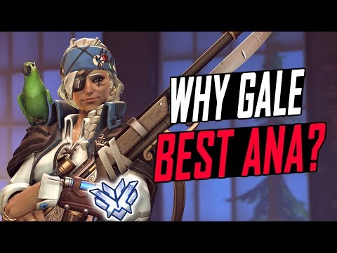 WHY GALE BEST ANA? 300+ GAMES [ OVERWATCH SEASON 6 TOP 500 ]