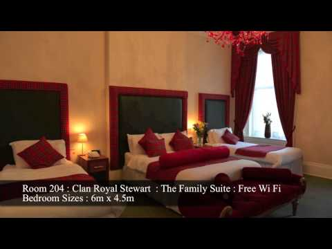 Argyll Hotel - Room 204 : Clan Royal Stewart : The Family Suite