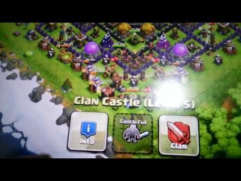 Clash Of Clans Hack (Infinite Clan Castle Troops)