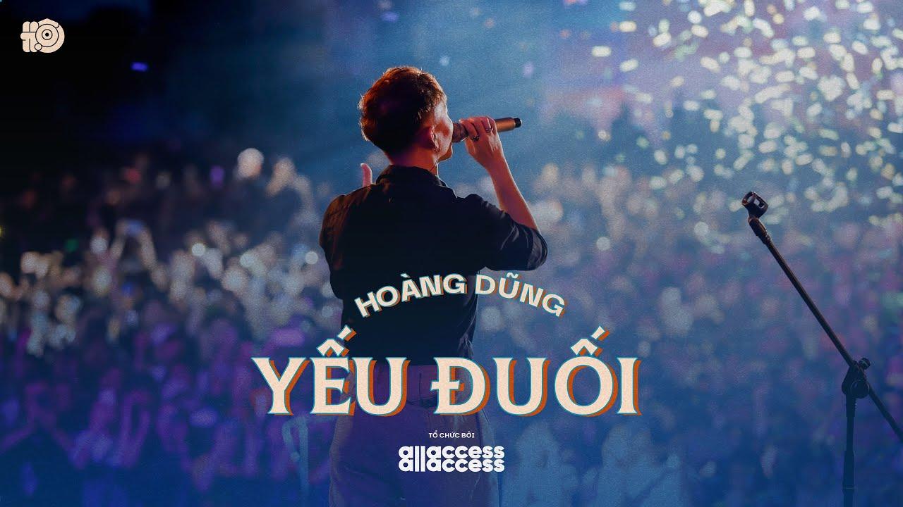 HOÀNG DŨNG - YẾU ĐUỐI | Live at HỘI ĐỒNG HỘI 2020