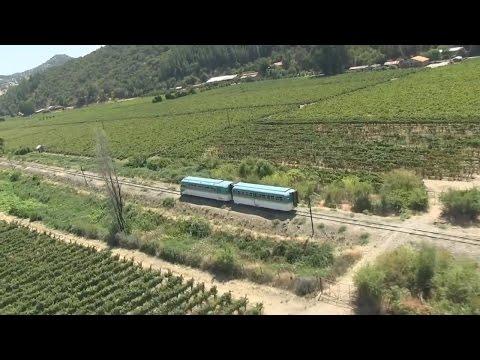 Tren a Constitución - Región del Maule, Chile (2015) HD