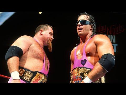 The Hart Foundation take spot No. 3: WWE 50 Greatest Tag Teams sneak peek