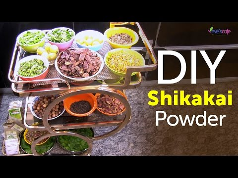 Shikakai Powder Preparation at Home (Herbal Shampoo) - DIY