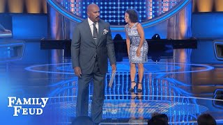 The Wynter's play Fast Money!   Family Feud