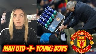 DE GEA IS THE BEST IN THE WORLD| #MUFC v YOUNG BOYS MATCH REACTION