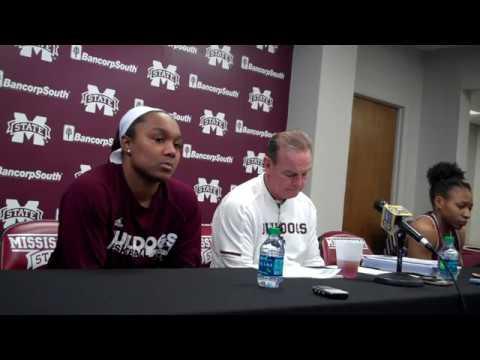 Roshunda Johnson, Vic Schaefer, Morgan William press conference 1-3-18
