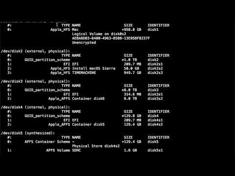 終端機指令HFS to APFS - VidVui