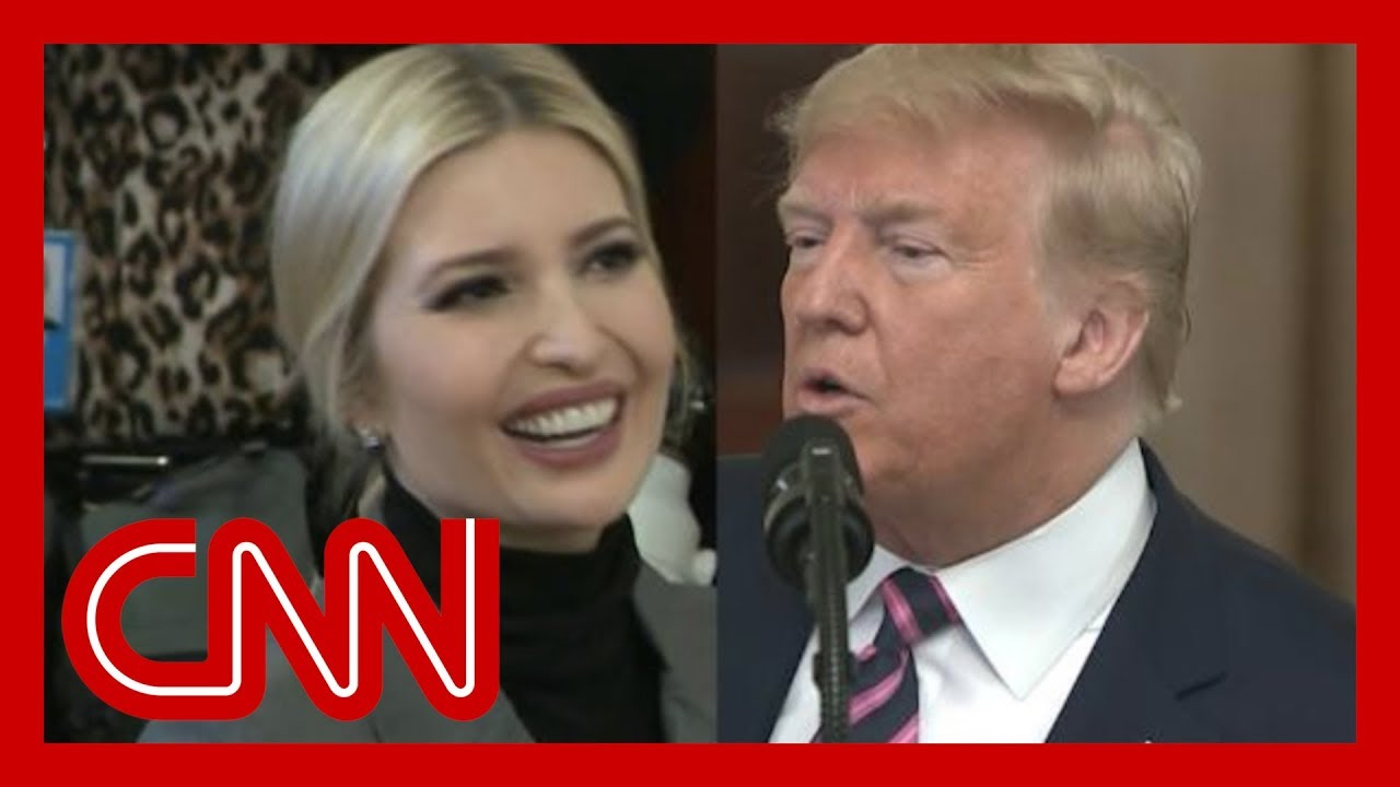 CNN fact checks Trump's claim about Ivanka during speech