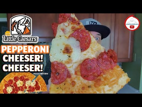 little-caesars®-pepperoni-cheeser!-cheeser!-pizza-review!-🤴🧀🧀🍕