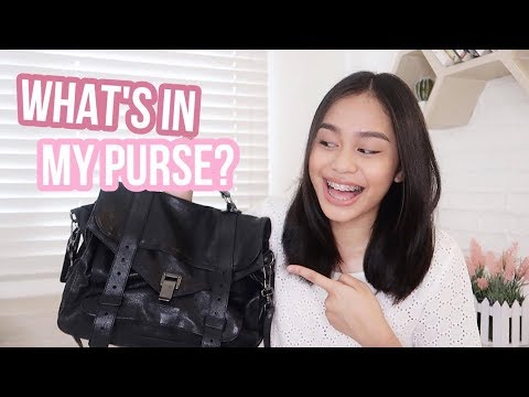 What's in my Purse 2017? (Philippines) | ThatsBella
