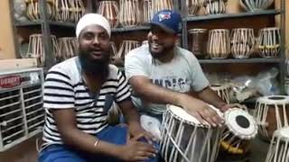 Alaap sikander g saying perfect tone(volume) of tabla that made by world famous JONTY TABLA MAKER