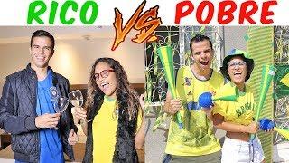 RICO VS POBRE! - COPA DO MUNDO! - KIDS FUN