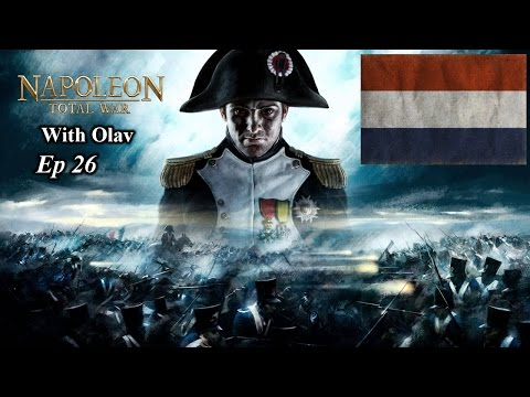 Napoleon Total War Dutch Campaign Ep26 Capturing the French Fleet!