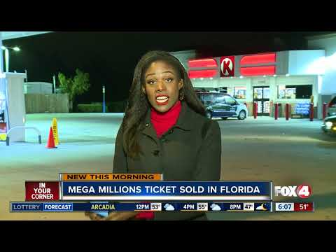 $4 million Mega Million ticket sold in Florida