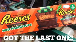 HALF POUND REESE'S PEANUT BUTTER CUPS! Shop With Me At Sam's Club!