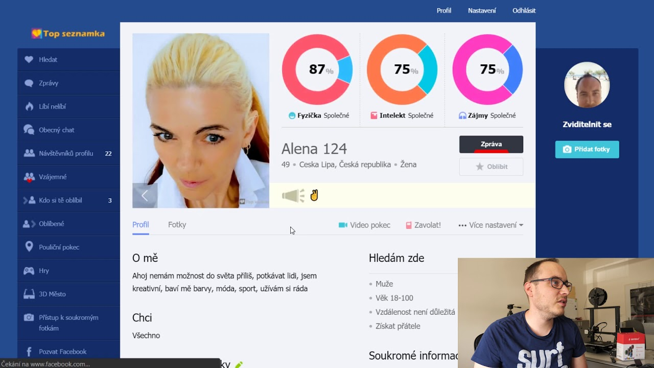 Chameleon Dating Software: top-seznamka.cz 2020 - YouTube