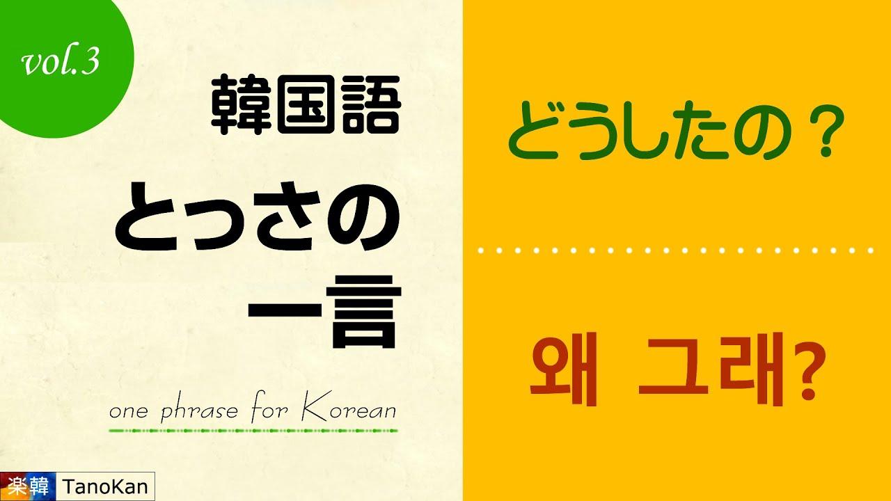 の どう 韓国 語 した