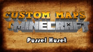 Minecraft: Custom map - Pussel Huset (svenska)