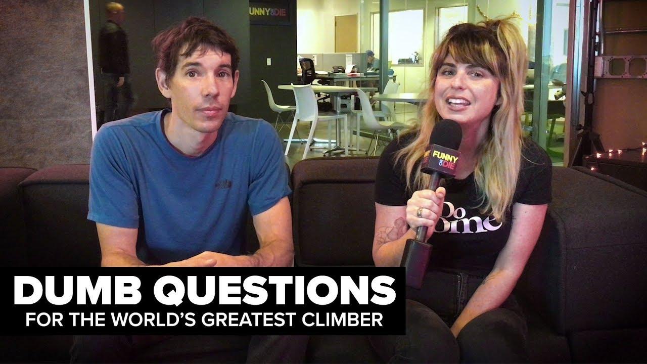 Alex Honnold Answers Dumb Questions about El Cap Free Solo   Teton