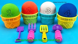 Kinetic Sand Ice Cream Cups Surprise Eggs Yowie Chupa Chups Zuru 5 Surprise Toys