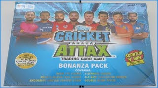 HUGE BONANZA PACK UNBOXING incl. AUCTION STARS | Topps CRICKET ATTAX IPL 2017-18 Trading Cards
