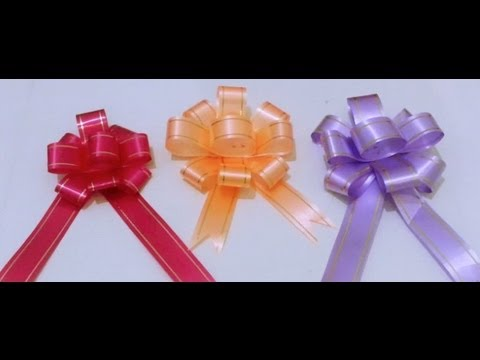 how to make gift ribbon