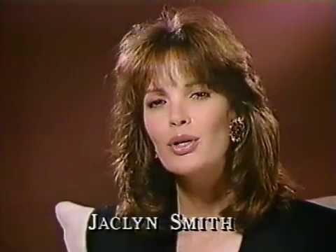 Jaclyn Smith PSA & ABC promos April 1990 - YouTube