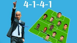 Manchester City Potential Lineup Next Year 2017-18