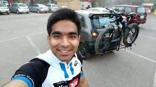 Earth hour ride   Fat Biker Vaibhav